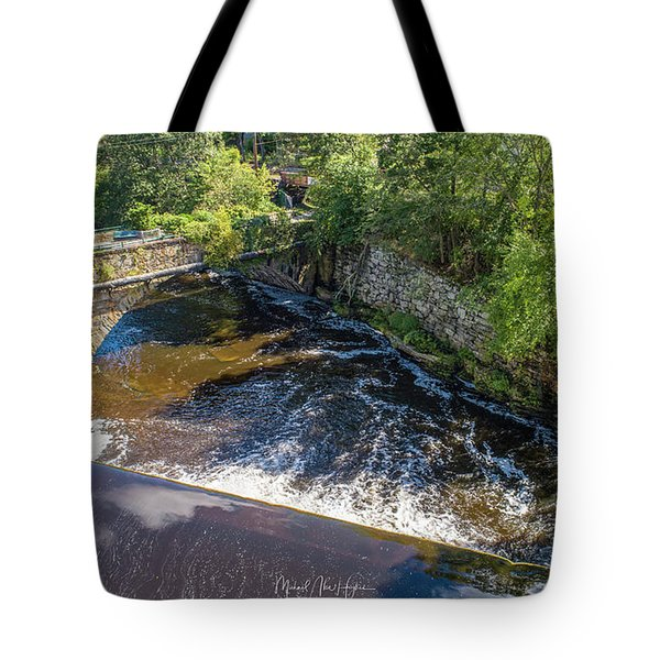 Tote Bag featuring the photograph Withstanding Time by Michael Hughes