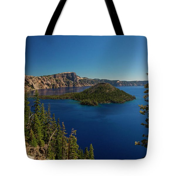 Wizard Island Tote Bag