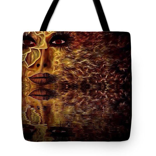 Wizard Of Flowers And Fire 1 Tote Bag