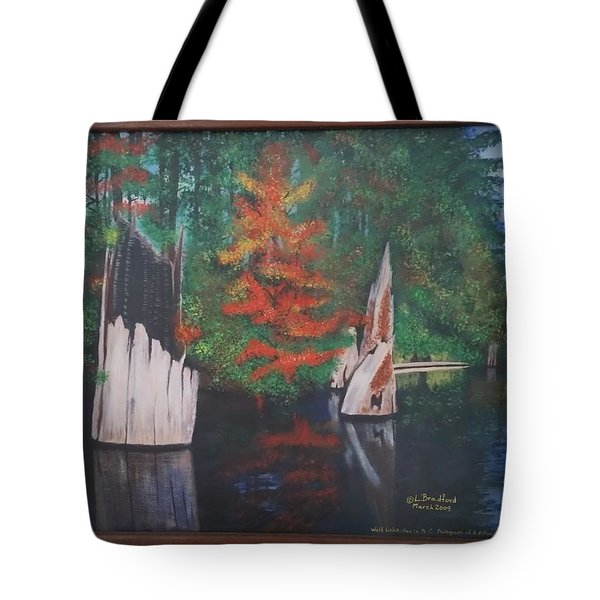 Wolf Lake On Vancouver Island  Tote Bag