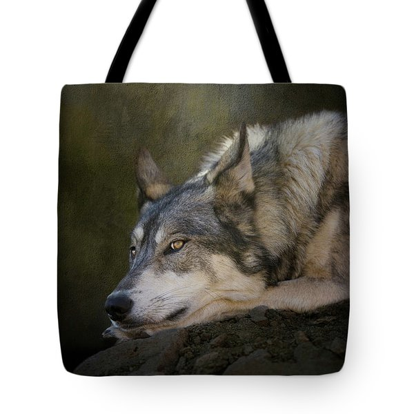 Wolf Watch Tote Bag