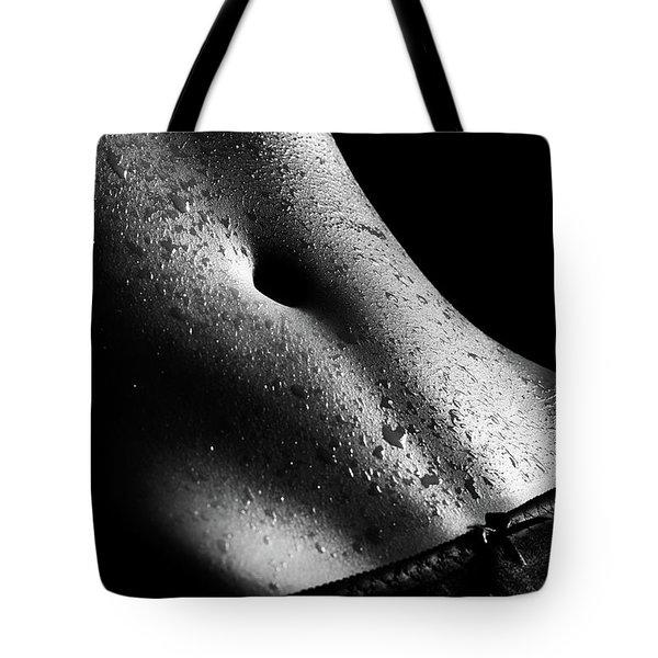 Woman's Wet Abdomen Tote Bag