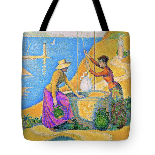 Women At The Well - Digital Remastered Edition Tote Bag