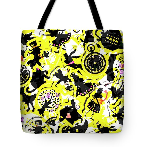 Wonderland Design Tote Bag