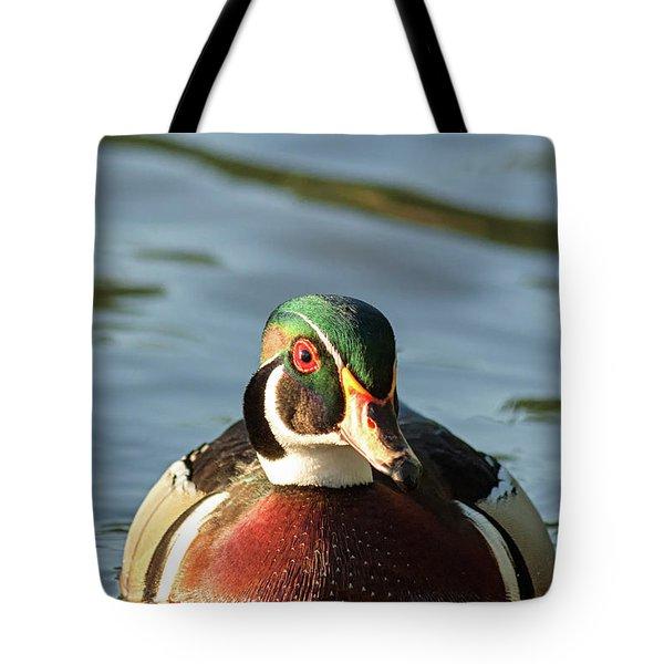 Wood Duck 3 Tote Bag