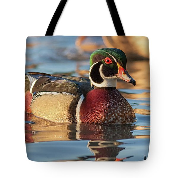 Wood Duck 4 Tote Bag
