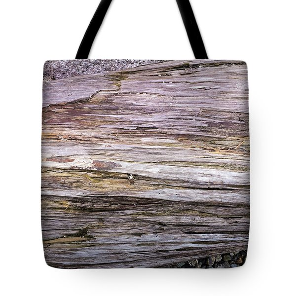 Tote Bag featuring the photograph Wood Log In Nature No.28 by Juan Contreras