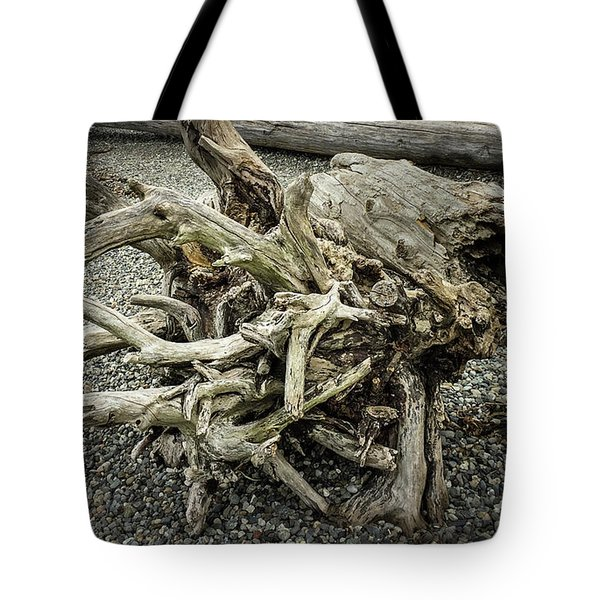 Tote Bag featuring the photograph Wood Log In Nature No.34 by Juan Contreras