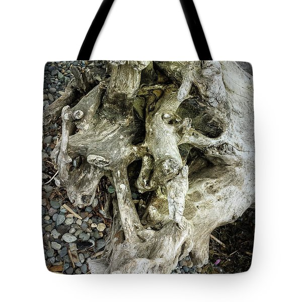 Tote Bag featuring the photograph Wood Log In Nature No.37 by Juan Contreras