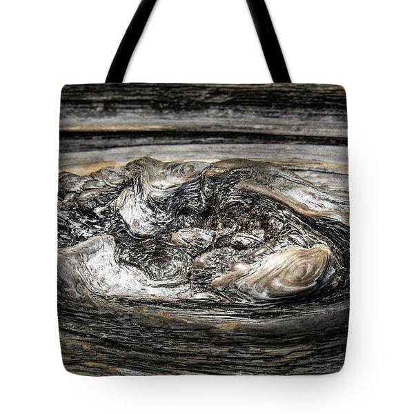 Wood Skine Tote Bag