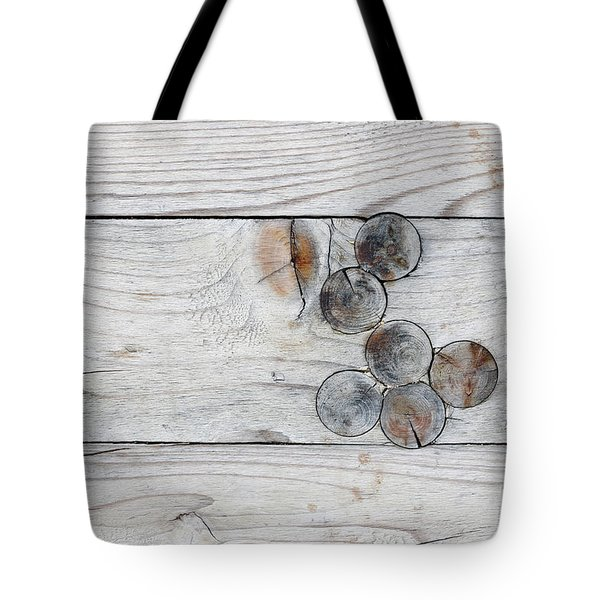 Wood With Knots Tote Bag