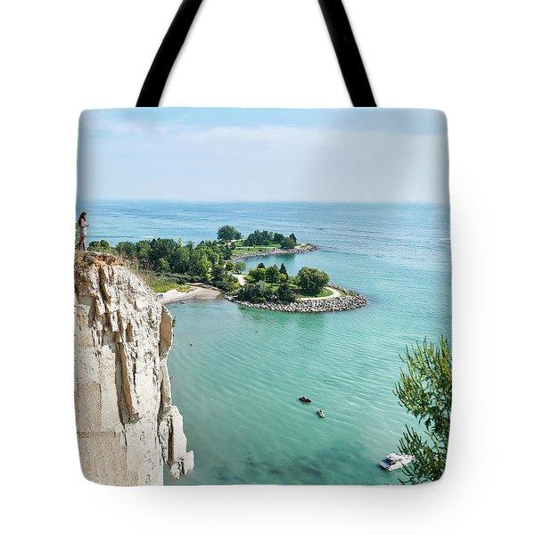 Woodbine Beach Tote Bag