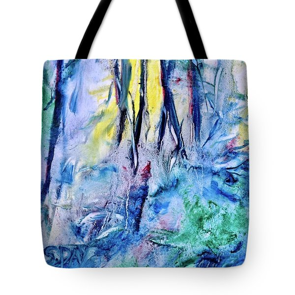 Wooded Stream Tote Bag