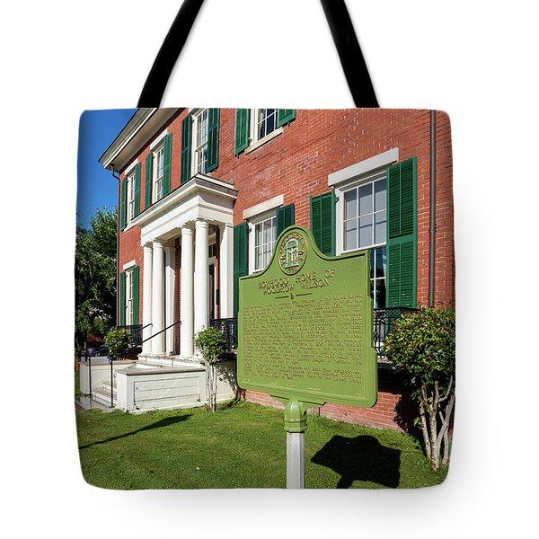 Woodrow Wilson Boyhood Home - Augusta Ga 1 Tote Bag