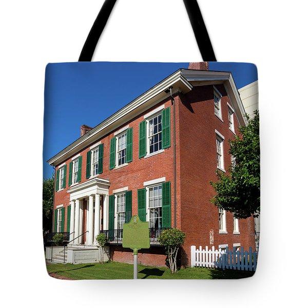Woodrow Wilson Boyhood Home - Augusta Ga 2 Tote Bag
