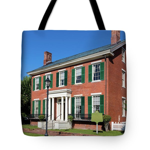 Woodrow Wilson Boyhood Home - Augusta Ga 3 Tote Bag