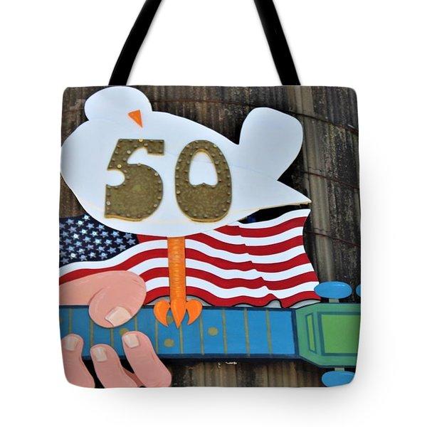 Woodstock 50th Anniversary Tote Bag