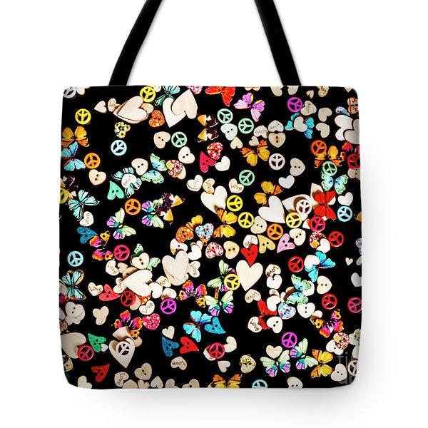 Woodstock Decorated Tote Bag