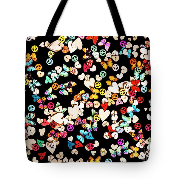 Woodstock Decorated Tote Bag