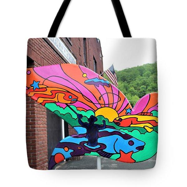 Woodstock Dove 4 Tote Bag