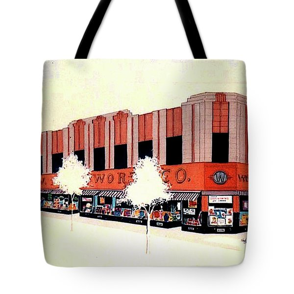 Woolworth On Market St. Tote Bag