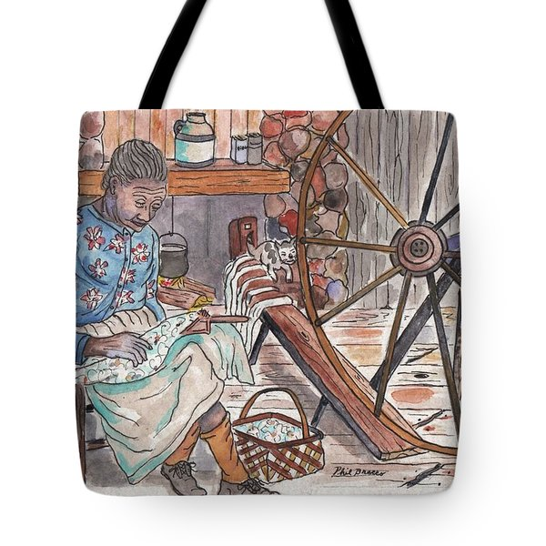 Working Cotton The Old Fashioned Way Tote Bag