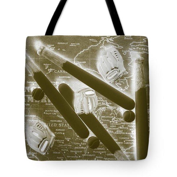 World Series Baseball Tote Bag