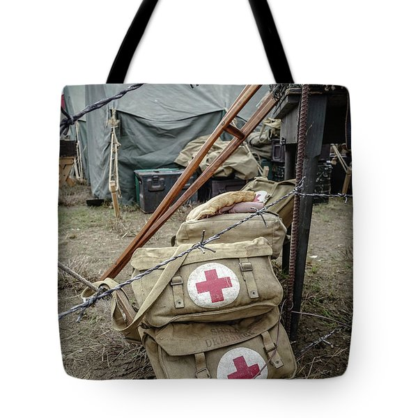 World War II Us Army First Air Camp Tote Bag