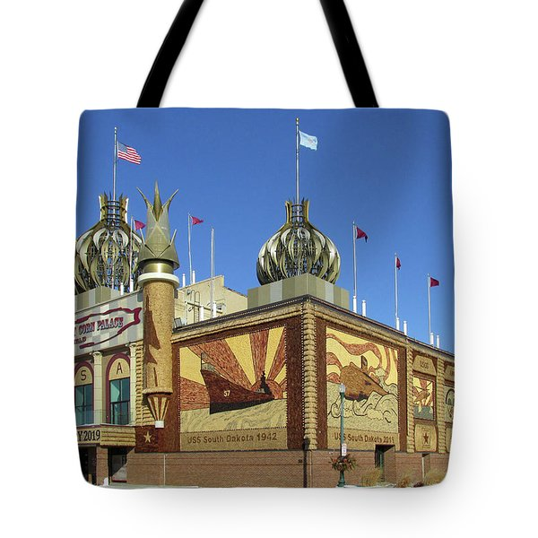 Worlds Only Corn Palace 2018-19 Tote Bag