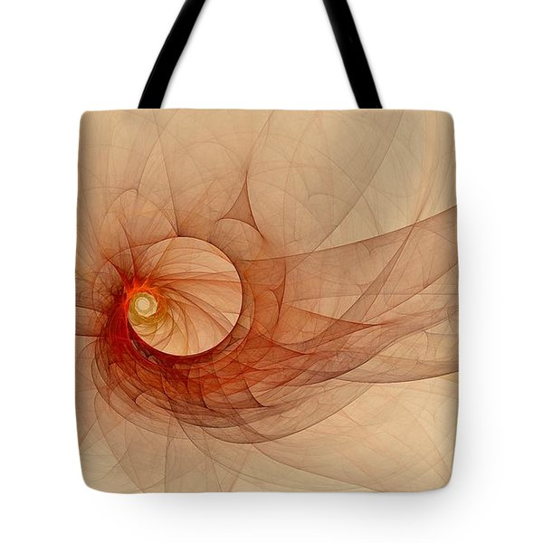 Wound Up Tote Bag
