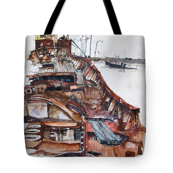 Wreckrust Tote Bag