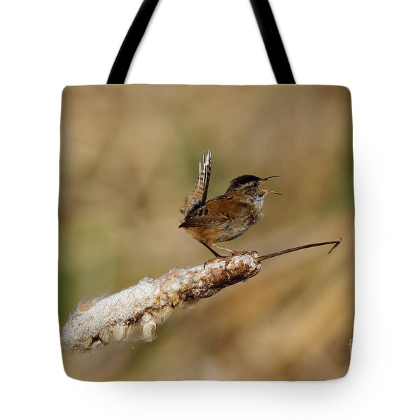 Wren Strong Song Tote Bag