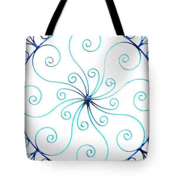 Wrought Iron Tote Bag