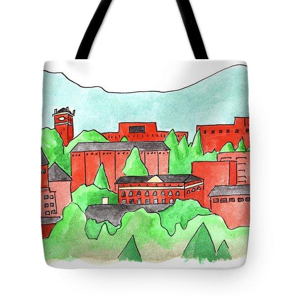 Wsu Pullman Tote Bag