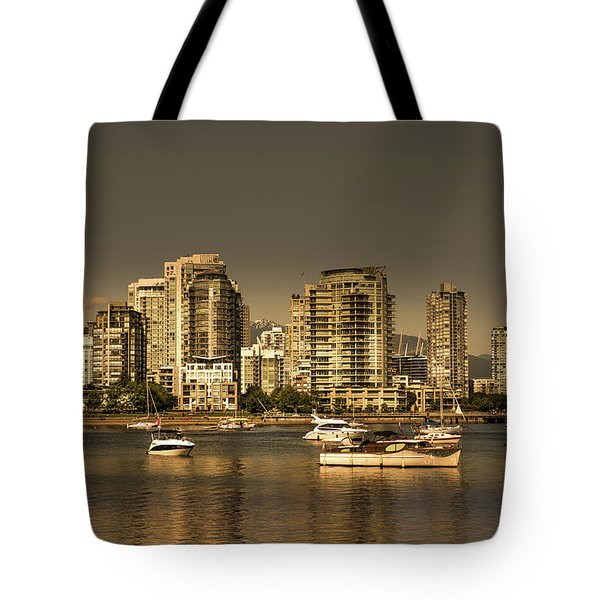 Yaletown Golden Hour Tote Bag