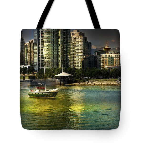 Yaletown Sunset Tote Bag