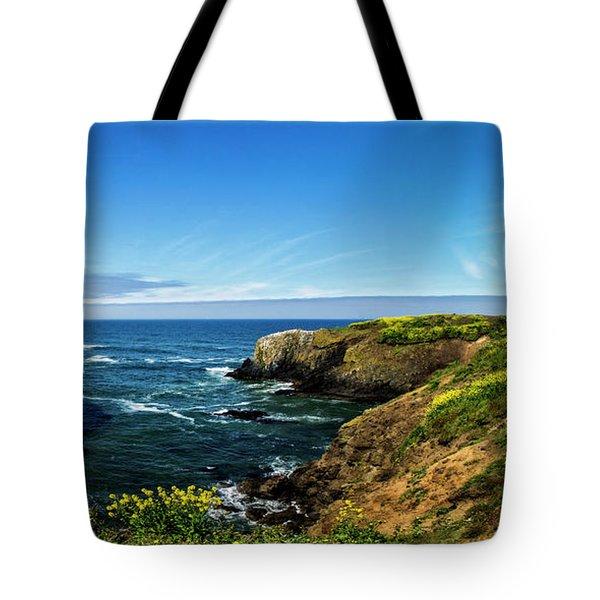 Yaquina Head Lighthouse Tote Bag