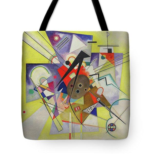 Yellow Accompaniment - Gelbe Begleitung Tote Bag
