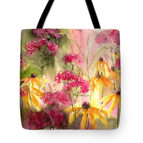 Yellow Ballerinas Tote Bag