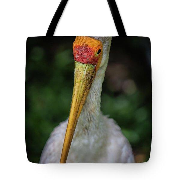 Yellow Billed Storks Tote Bag