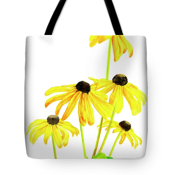 Yellow Black Eyed Susans Tote Bag