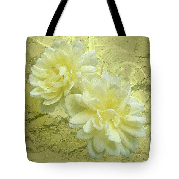 Yellow Foil Tote Bag