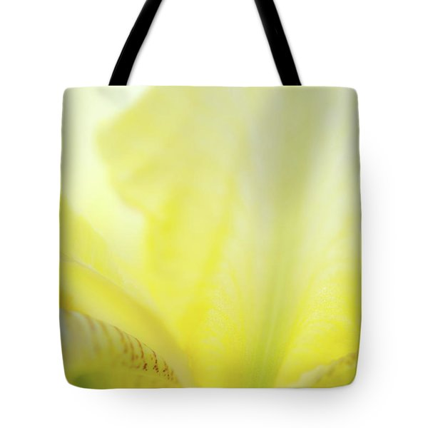 Tote Bag featuring the photograph Yellow Iris 3 by Leland D Howard