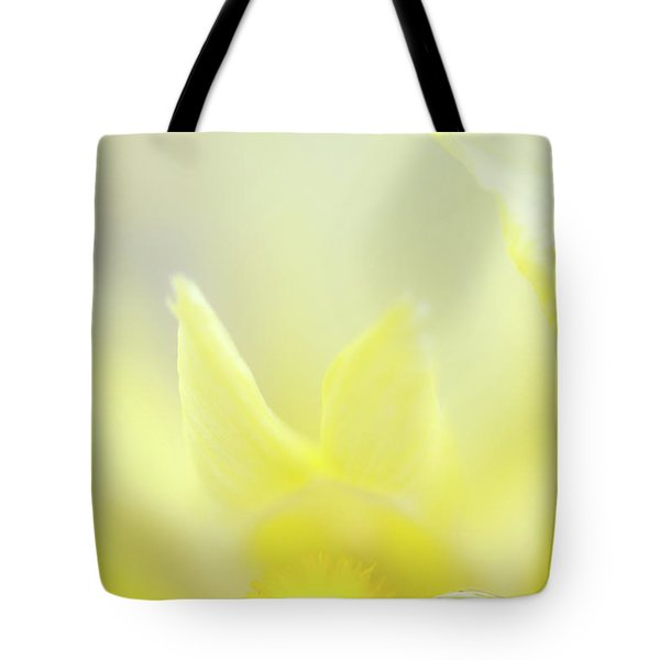 Tote Bag featuring the photograph Yellow Iris 4 by Leland D Howard