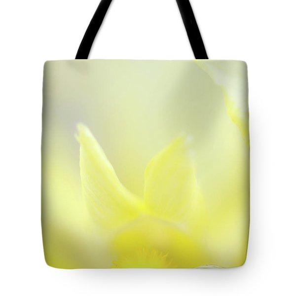 Yellow Iris 4 Tote Bag