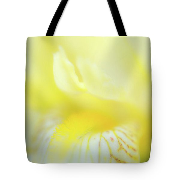Tote Bag featuring the photograph Yellow Iris 6 by Leland D Howard