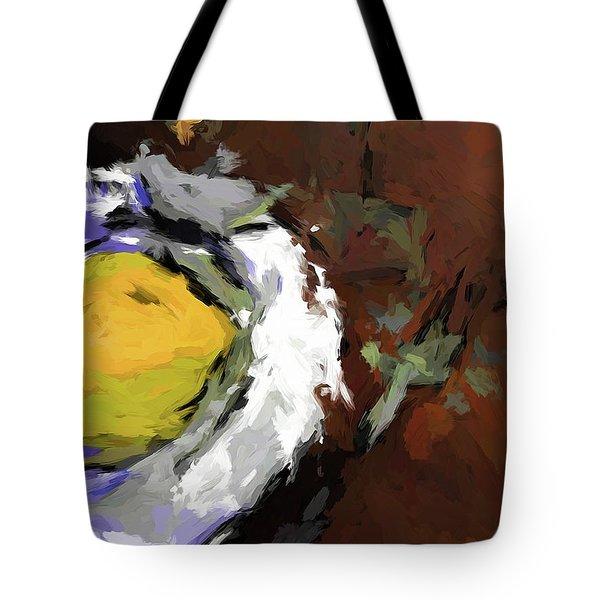 Yellow Lemon In The Bowl Tote Bag