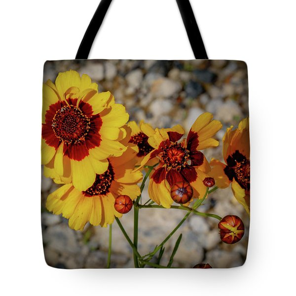 Yellow Wildflowers Tote Bag