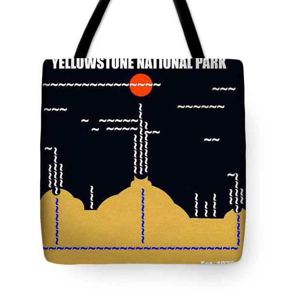 Yellowstone N. P. M Series B Tote Bag