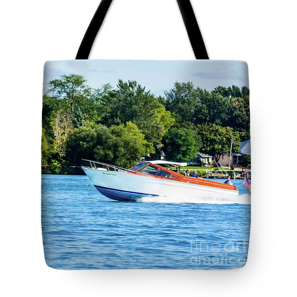 Yes Its A Chris Craft Tote Bag